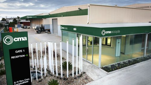 CMA Ecocycle Head Office