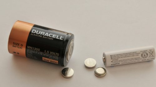 Different types of household batteries
