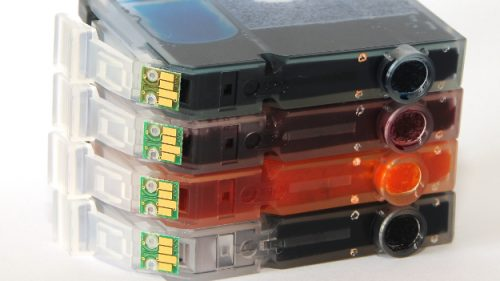 Printer cartridges can be recycled
