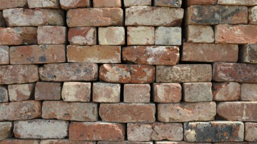 Bricks can be used again and again