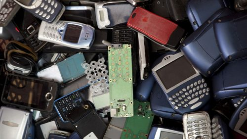 Mobile phones recycling