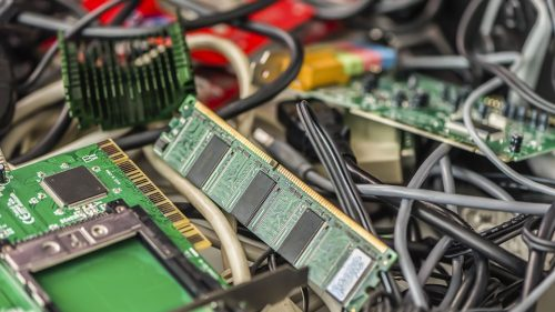 Electronic Waste Components