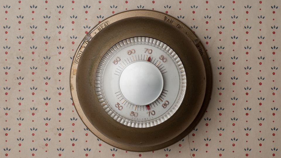 Old thermostats may contain mercury.