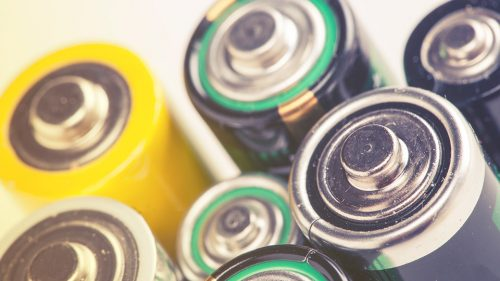 How does Ecocycle collect, transport, store and recycle batteries?