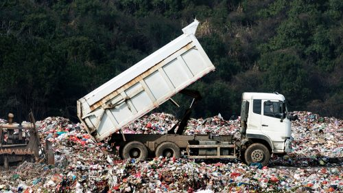 How the money raised by waste levies should be spent
