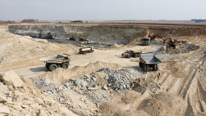 How does CMA Ecocycle collect, transport, store and recycle mining waste?