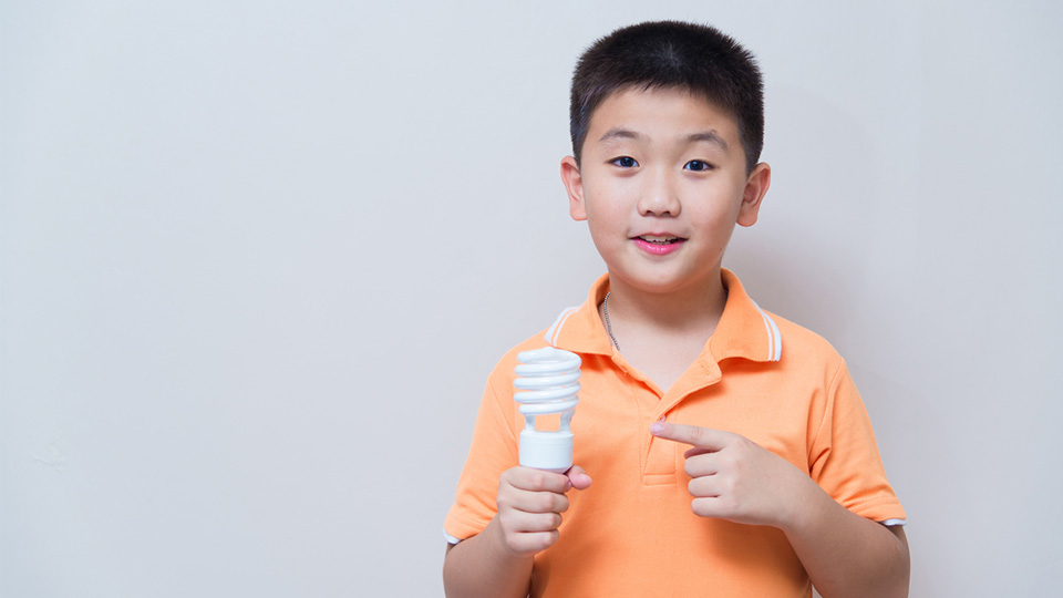 What types of lighting can schools recycle?