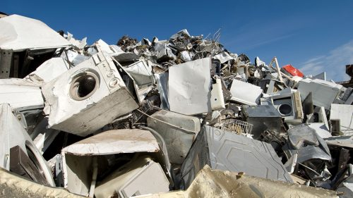 How do I recycle white goods?