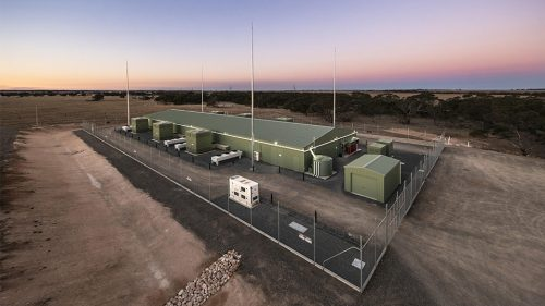 Dalrymple battery energy storage system facility. Credit ESCRI-SA