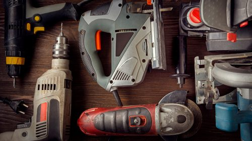 How do I recycle old power tools