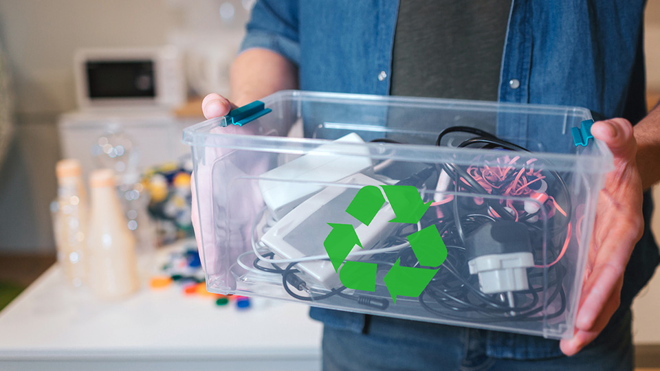 How can I recycle electronics?