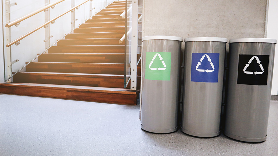 How to promote recycling in the workplace