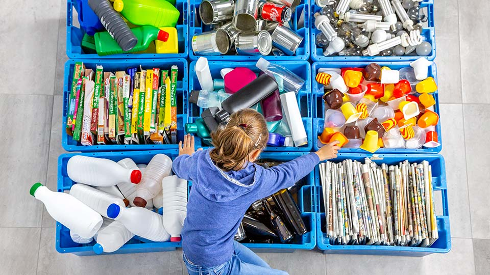 Why schools play a vital role in teaching children about recycling